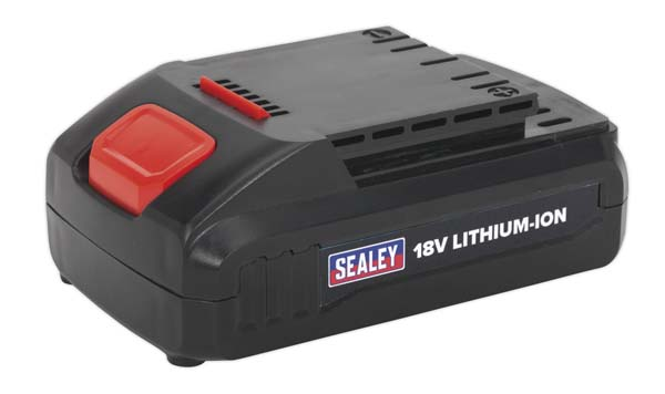 Sealey - CP2518LBP  Power Tool Battery 18V 1.3Ah Lithium-ion for CP2518L