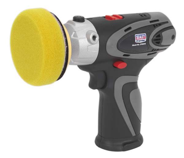 Sealey - CP6015  Cordless Polisher/Sander 14.4V Lithium-ion - Body Only