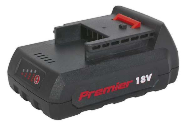 Sealey - CP6018VBP  Power Tool Battery 18V 1.5Ah Li-ion for CP6018V