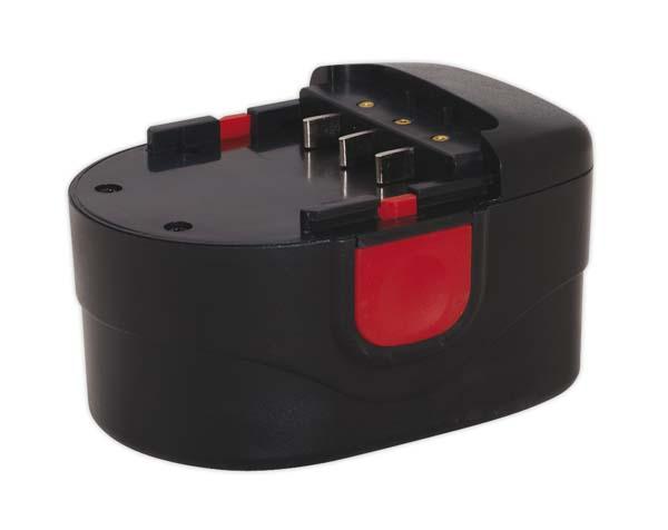 Sealey - CPG12VBP  Power Tool Battery 12V 1.7Ah Ni-MH for CPG12V