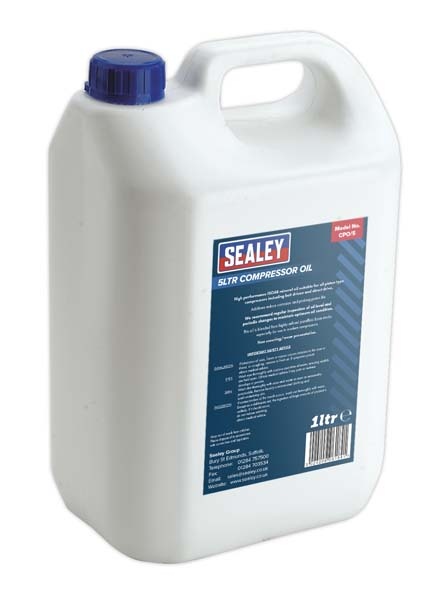 Sealey - CPO/5  Compressor Oil 5ltr