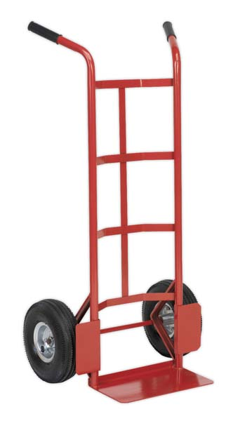 Sealey - CST986  Sack Truck with Pneumatic Tyres 200kg Capacity