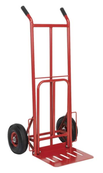 Sealey - CST990  Sack Truck with Pneumatic Tyres & Foldable Toe 250kg Capacity