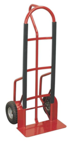 Sealey - CST998  Sack Truck with Pneumatic Tyres 300kg Capacity