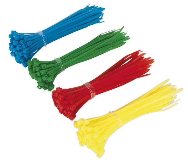 Sealey - CT200  Cable Tie 100 x 2.5mm Pack of 200