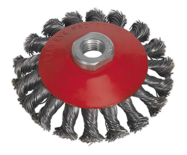 Sealey - CWB100  Conical Wire Brush