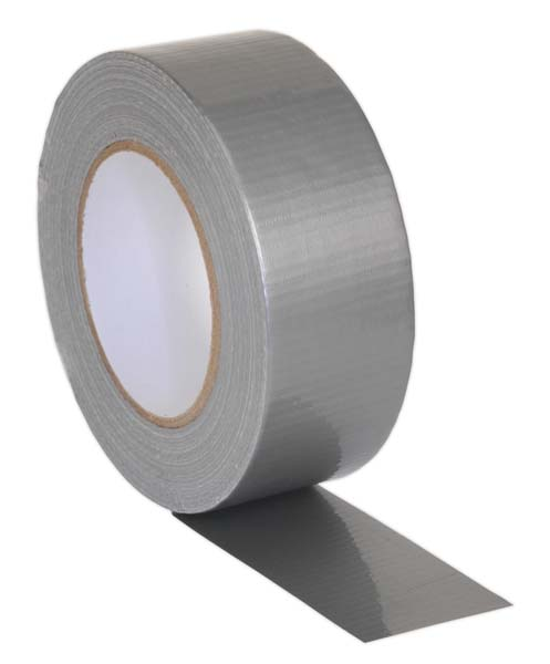 Sealey - DTS  Duct Tape 48mm x 50mtr Silver