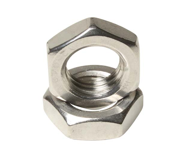 M10 HEX LOCK NUTS A2     DIN 439