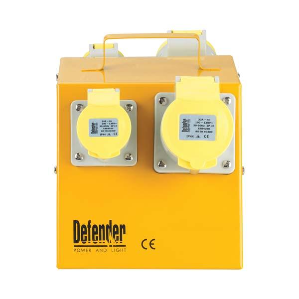 Defender 4-Way Power Splitter Unit 110V