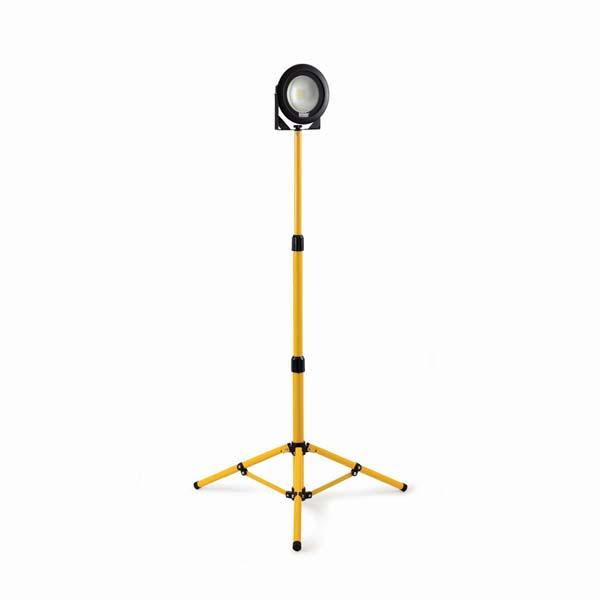 Defender DF1200- 20W LED Single Head Work Light with Telescopic Tripod 240V