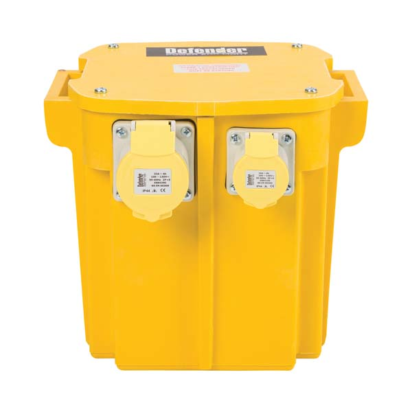 Defender 5kVA Transformer 1x 16A and 32A Outlets 110V