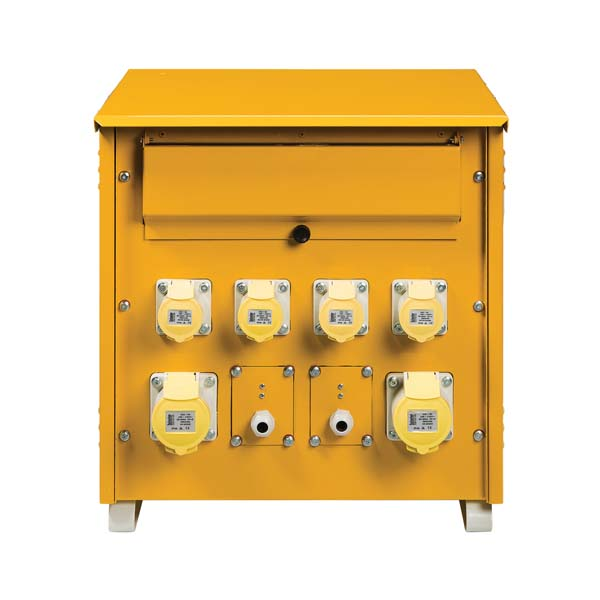 Defender 10kVA 3 Phase Mk2 Transformer 110V incl 4X 16A 2X 32A, Lighting outlets