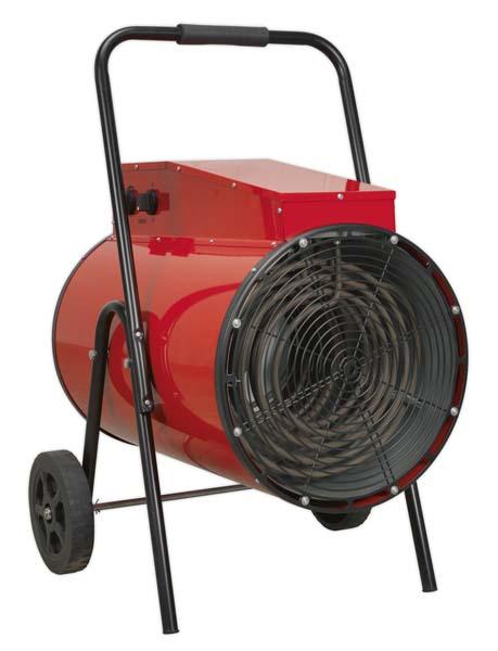 Sealey - EH30001  Industrial Fan Heater 30kW 415V 3ph