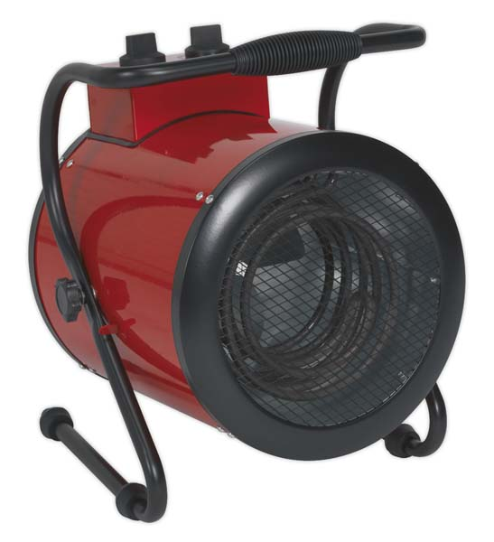 Sealey - EH3001  Industrial Fan Heater 3kW 2 Heat Settings