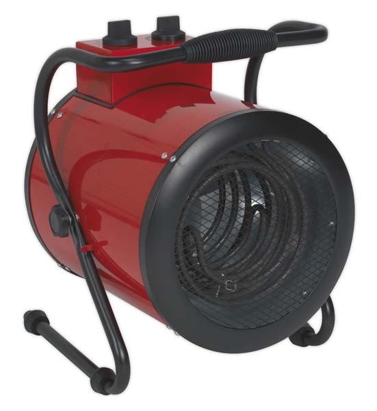 Sealey - EH5001  Industrial Fan Heater 5kW 415V 3ph
