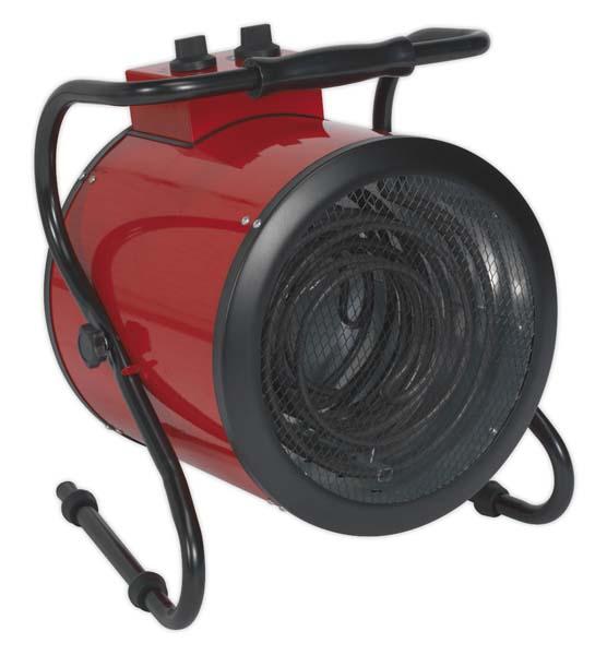 Sealey - EH9001  Industrial Fan Heater 9kW 415V 3ph
