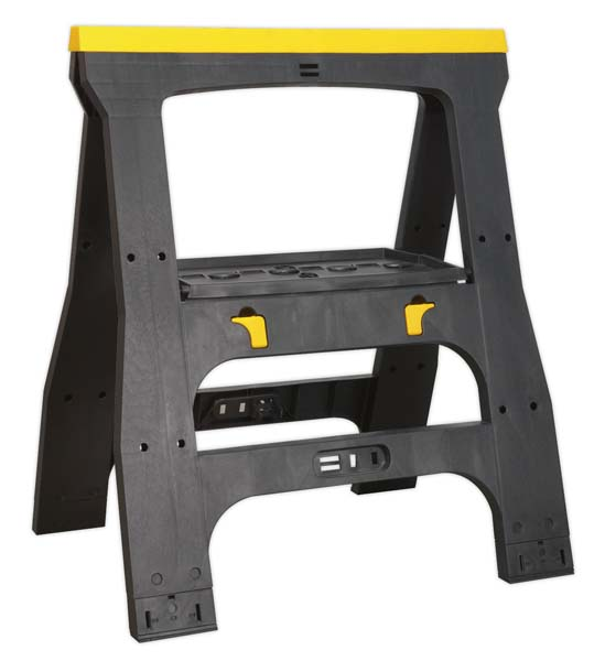 Sealey - FDT4  Heavy-Duty Folding Composite Trestle