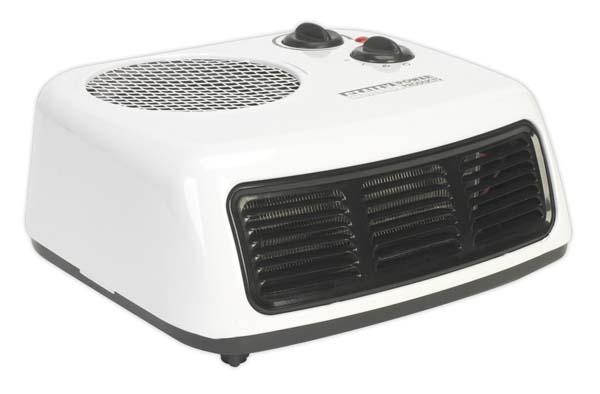 Sealey - FH2009  Fan Heater 2000W/230V 2 Heat Settings & Thermostat