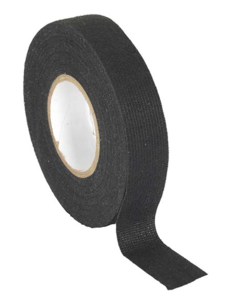 Sealey - FT01  Fleece Tape 19mm x 15mtr Black