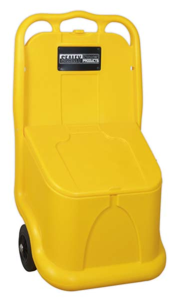 Sealey - GB04  Grit/Salt Mobile Storage Cart 75ltr