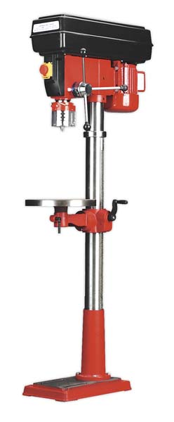 Sealey - GDM200F/VS  Pillar Drill Floor Variable Speed 1630mm Height 650W/230V