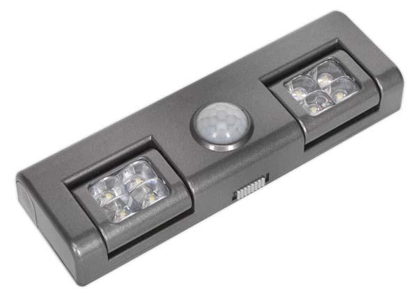 Sealey - GL93  Auto 8 LED Light with PIR Sensor