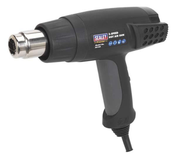 Sealey - HS100  Hot Air Gun 2000W 3-Speed 50/420/650