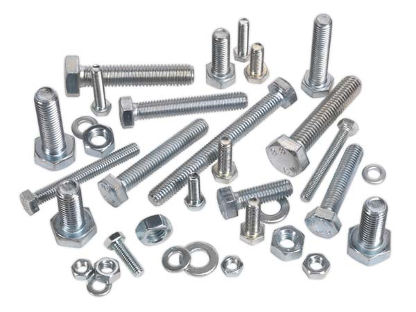 Sealey - HSSM10  Setscrew & Nut Assortment 200pc M10