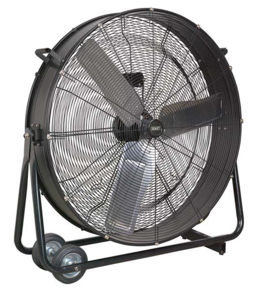 "Sealey - HVD36  Industrial High Velocity Drum Fan 36"" 230V"