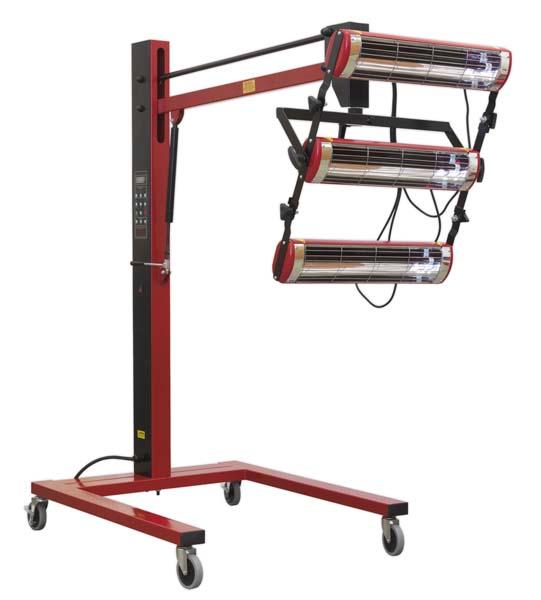 Sealey - IR3000  Infrared Panel Dryer - Short Wave 3000W/230V