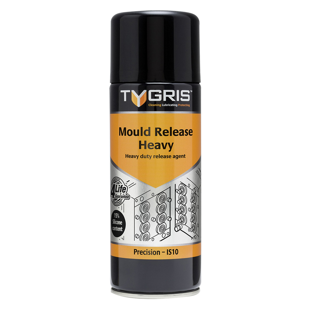 """Tygris """" PRECISION"""" Mould Release Heavy - 400 ml IS10"""