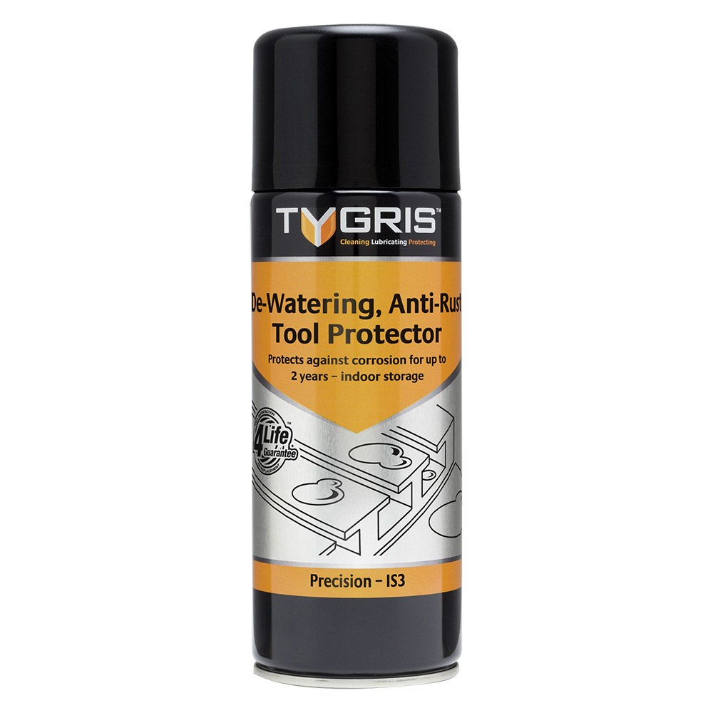 TYGRIS  IS3  De-Watering C291 Anti-Rust Tool Protector  400ml Aerosol