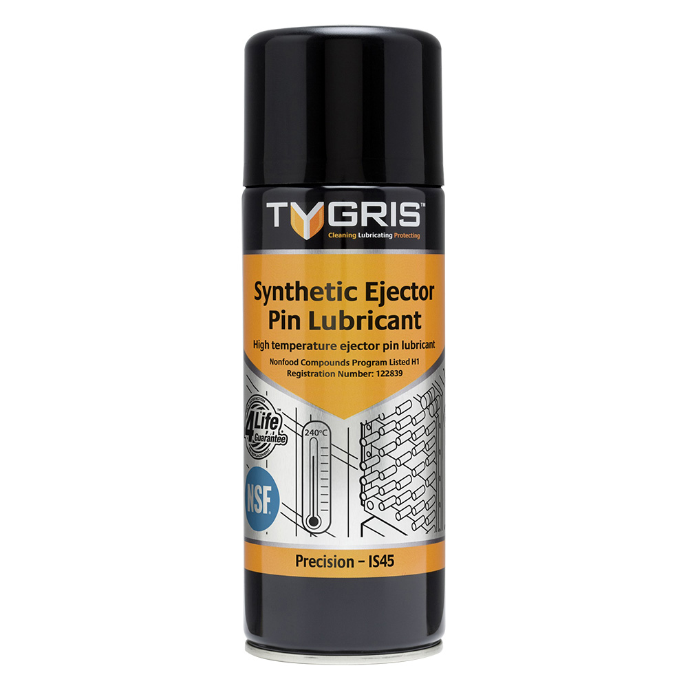 """Tygris """" PRECISION"""" Food Area Synthetic Ejector Pin Lubricant - 400 ml IS45"""