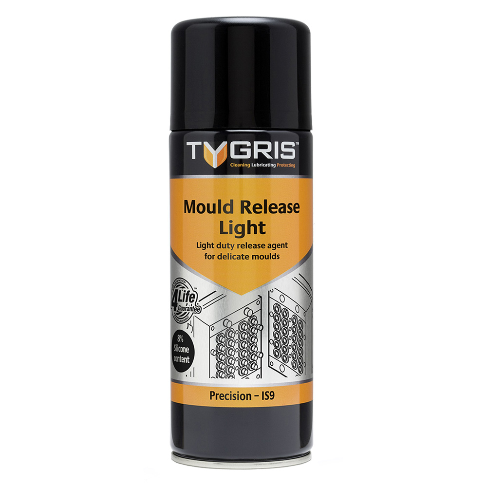 """Tygris """" PRECISION"""" Mould Release Light - 400 ml IS9"""