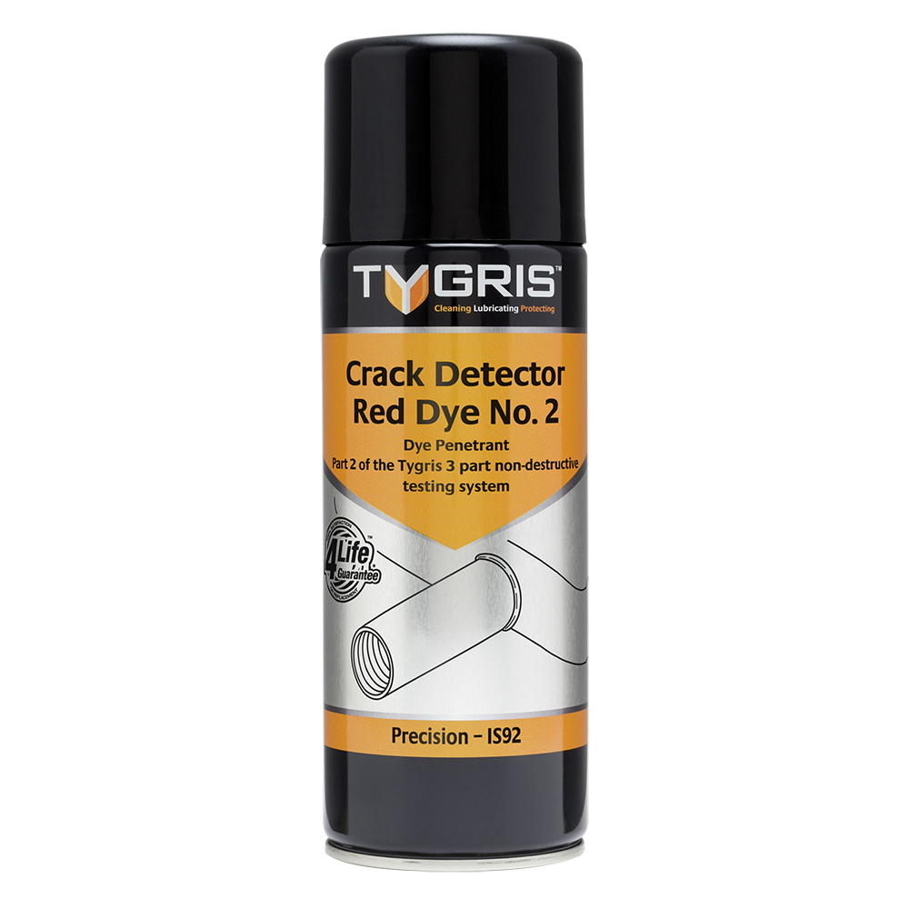 TYGRIS  IS92  Crack Detector Red Dye No. 2  400ml Aerosol