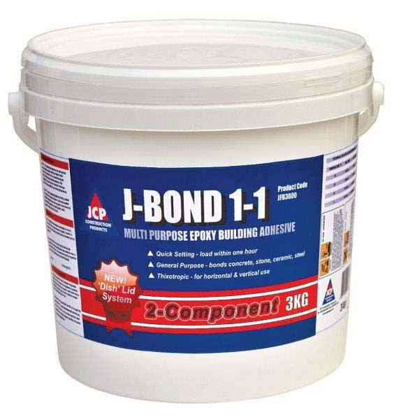 JCP JFB3000  J-Bond  3 kg Pail Gen Purpose Construction Adhesive