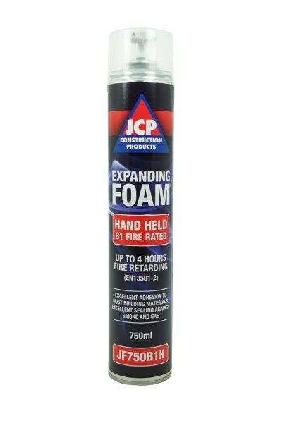 JCP JF750B1H  Fire Stop Expanding Foam Grade B1 Hand Held
