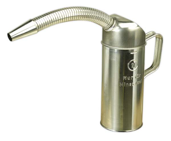 Sealey - JM1F  Measuring Jug Metal with Flexible Spout 1ltr
