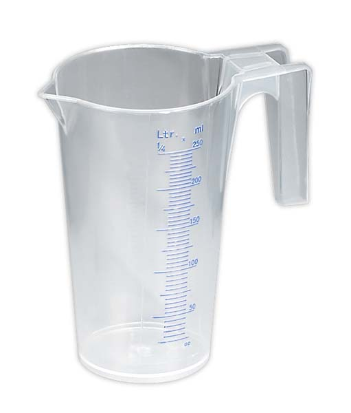Sealey - JT0250  Measuring Jug Translucent 0.25ltr