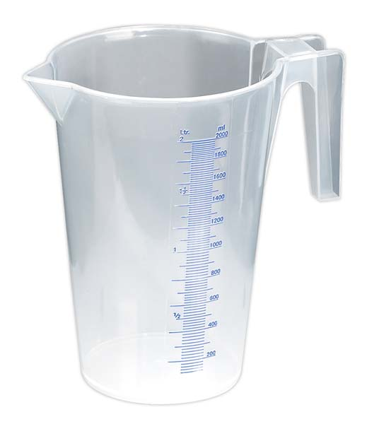Sealey - JT2000  Measuring Jug Translucent 2ltr