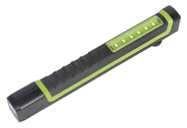 Sealey Magnetic Pocket Light 6 SMD + 1 LED