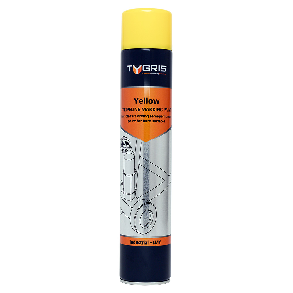 TYGRIS Stripeline Marking Paint Yellow - 750 ml LMY