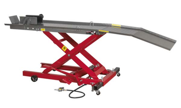Sealey - MC365A  Motorcycle Lift 365kg Capacity Air/Hydraulic