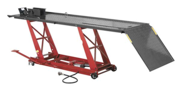 Sealey - MC401A  Motorcycle Lift 454kg Capacity Air/Hydraulic