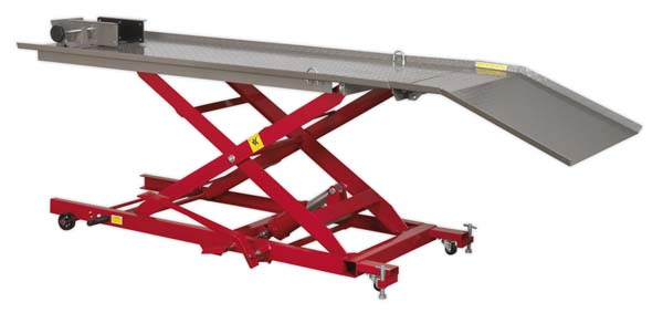 Sealey - MC454  Hydraulic Motorcycle Lift 450kg Capacity
