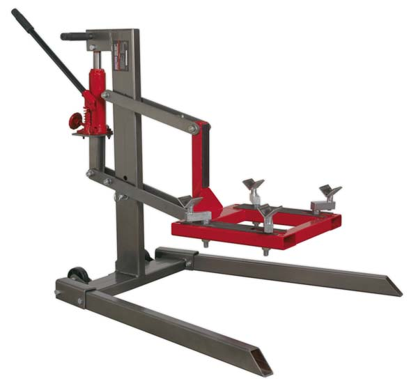 Sealey - MCL500  Single Post Motorcycle Lift 450kg Capacity
