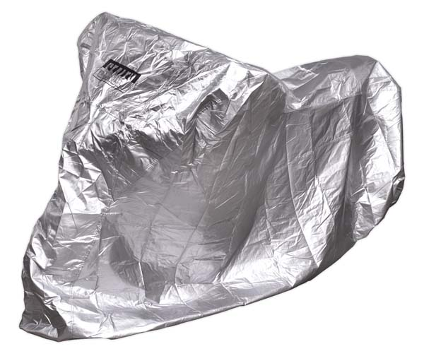 Sealey - MCS  Motorcycle Cover Small 1830 x 890 x 1300mm