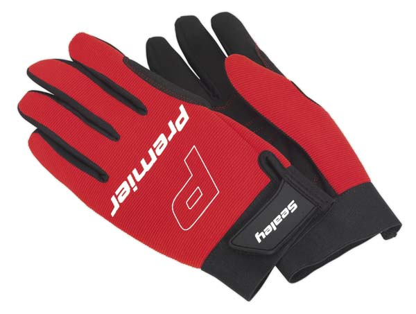 Sealey - MG796XL  Mechanic's Gloves Padded Palm - Extra Large
