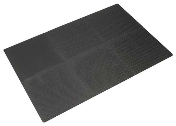 Sealey - MIC1218  Interlocking EVA Foam Workshop Mat Set 1200 x 1800mm