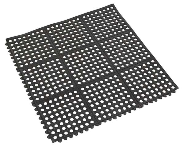 Sealey - MIC9292  Interlocking Anti-Fatigue Matting 920 x 920mm